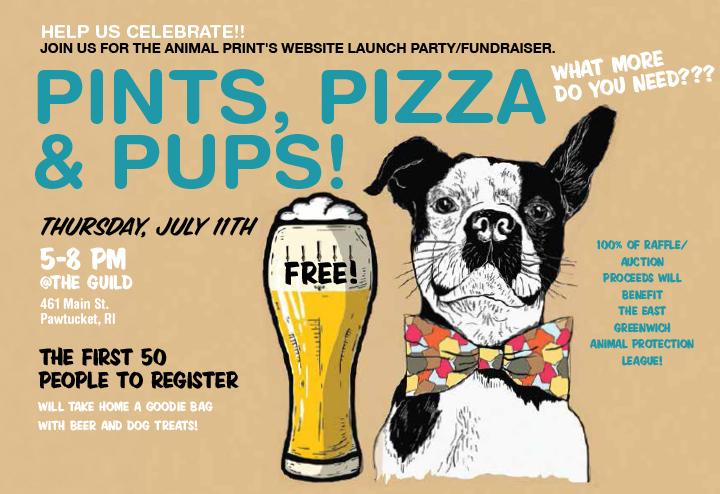 PINTS, PIZZA & PUPS! | The Animal Print Magazine